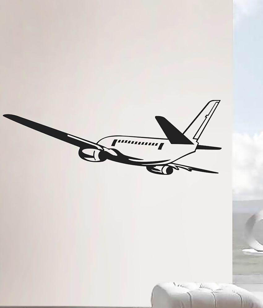 Creatick Studio Aeroplane Vinyl Wall Stickers