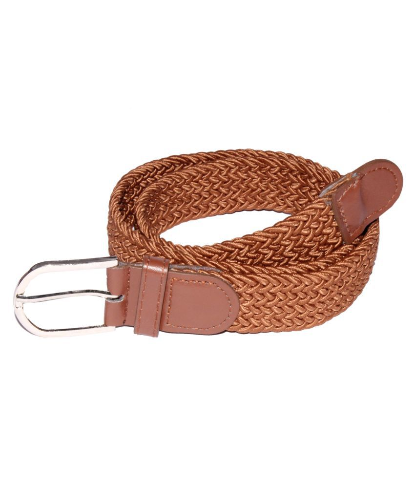 Mars And Venus Brown Canvas Belt