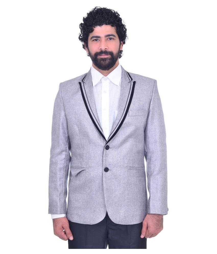 Snoby Grey Party Blazers