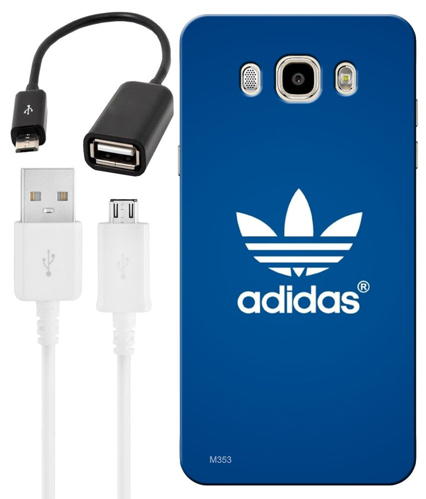Moderne FineArts Combo of Adidas Logo HD UV Printed Mobile Back Cover RB-74