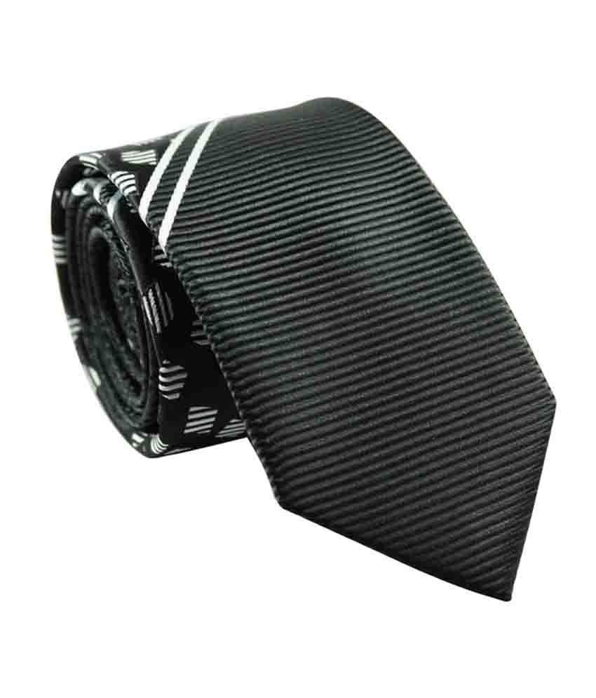 The Tie Hub Multicolour Micro Fiber Tie For Men