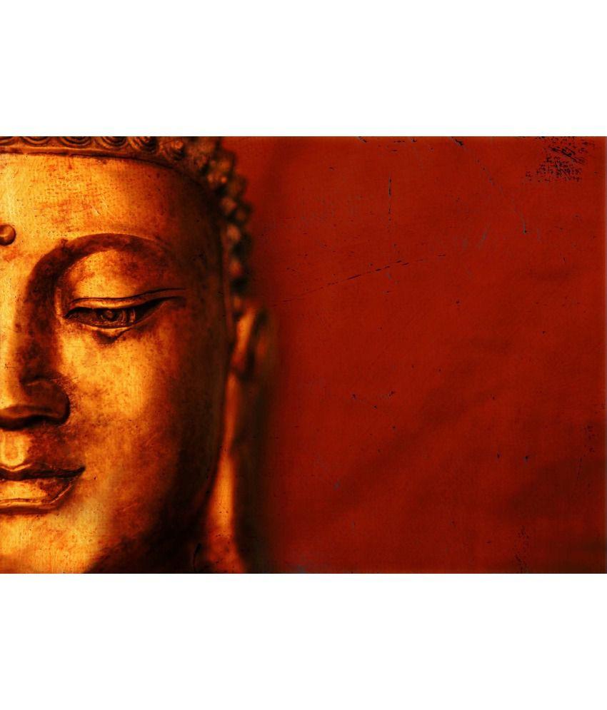 Tallenge Buddha Art Canvas Art Prints With Frame Single Piece
