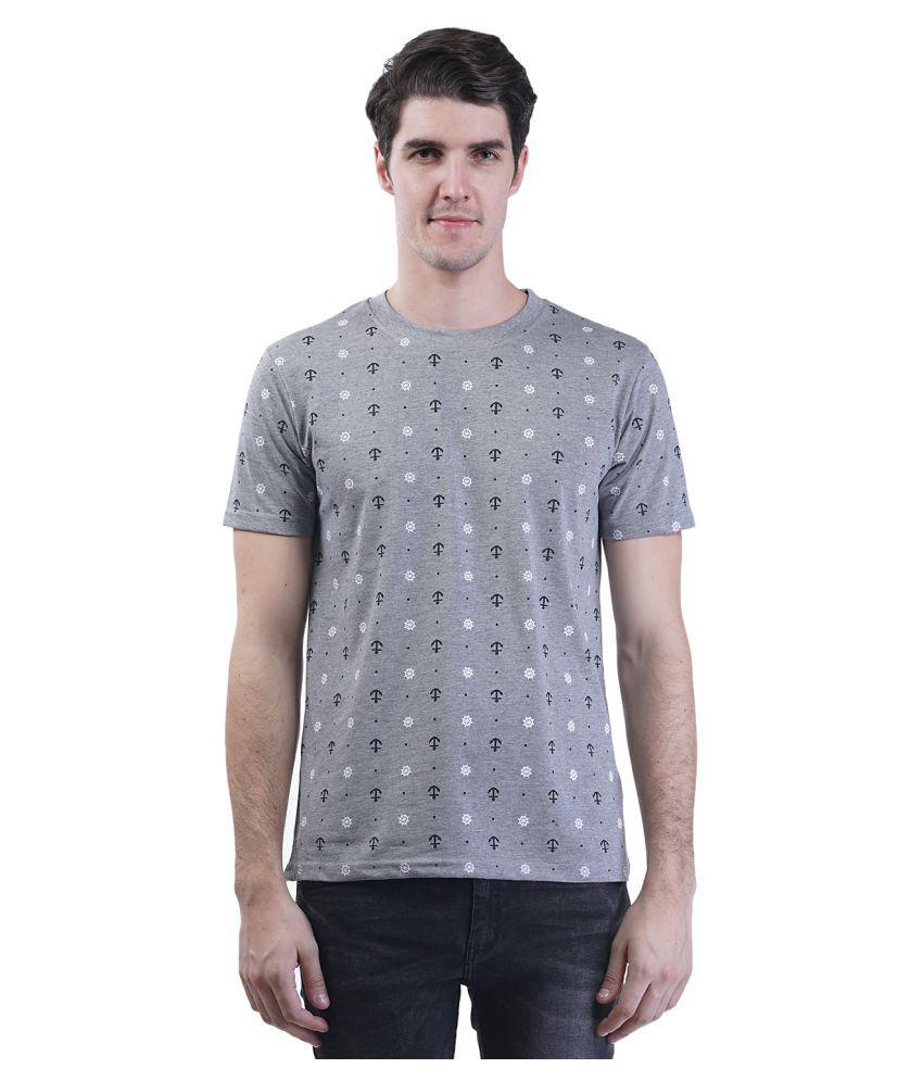 Griffel Grey Round T-Shirt