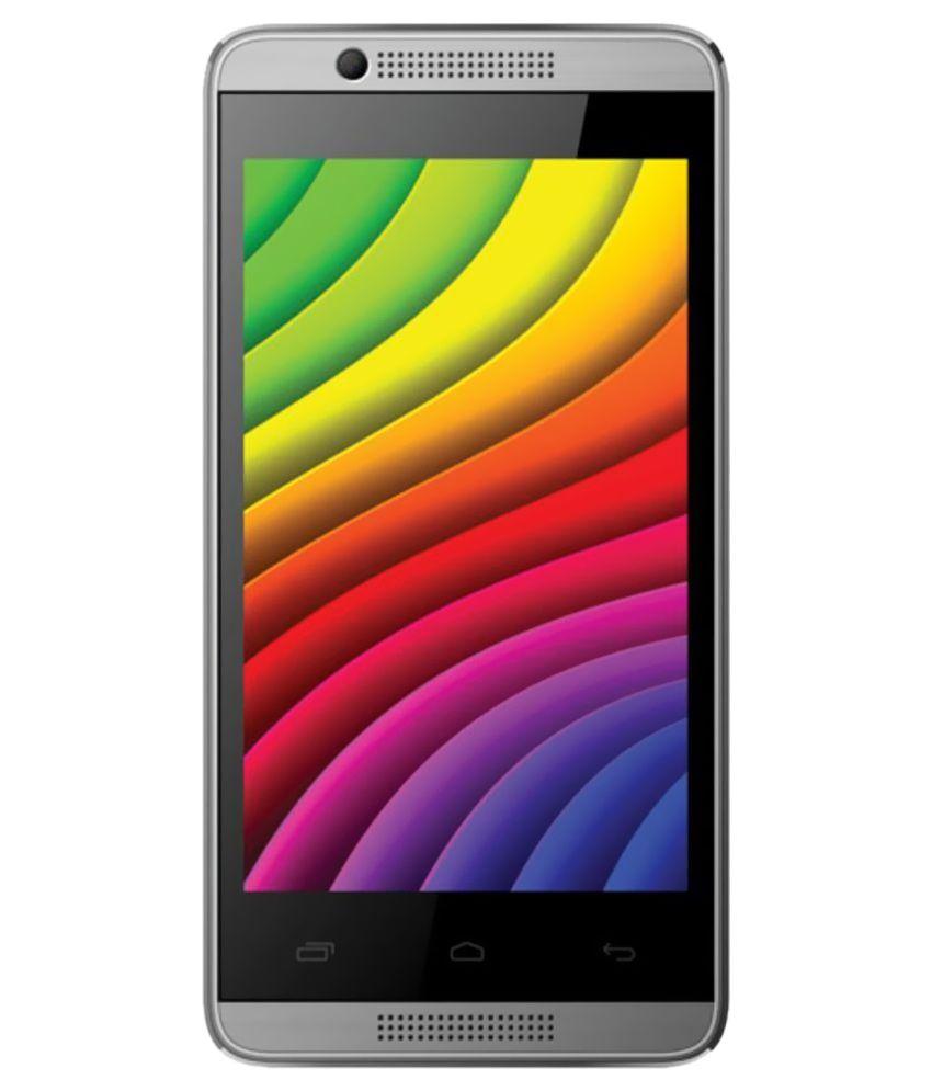 Intex Aqua 3G Pro Q 4GB and Below Gray