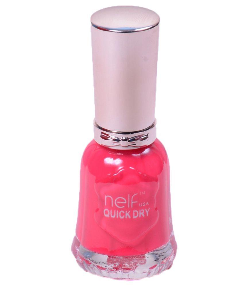 Nelf USA Quick Dry Pink Matte Nail Paint