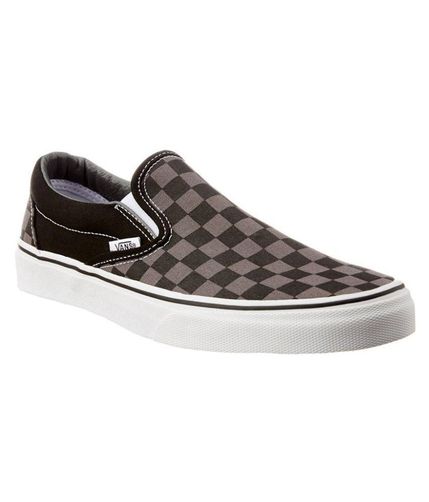 4ffe393f3a VANS Grey Checkerboard Casual Shoes Price in India- Buy VANS Grey  Checkerboard Casual Shoes Online at Snapdeal