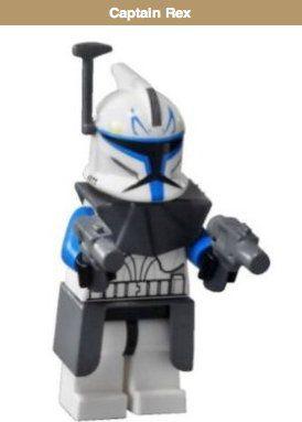 captain rex - lego star wars minifigure - buy captain rex - lego star wars minifigure online at