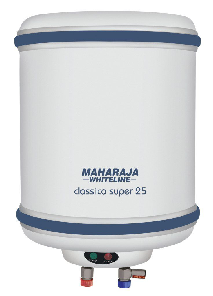 Maharaja Whiteline 25 Litres Classico Super Water Heater White & Blue By Snapdeal @ Rs.4,806