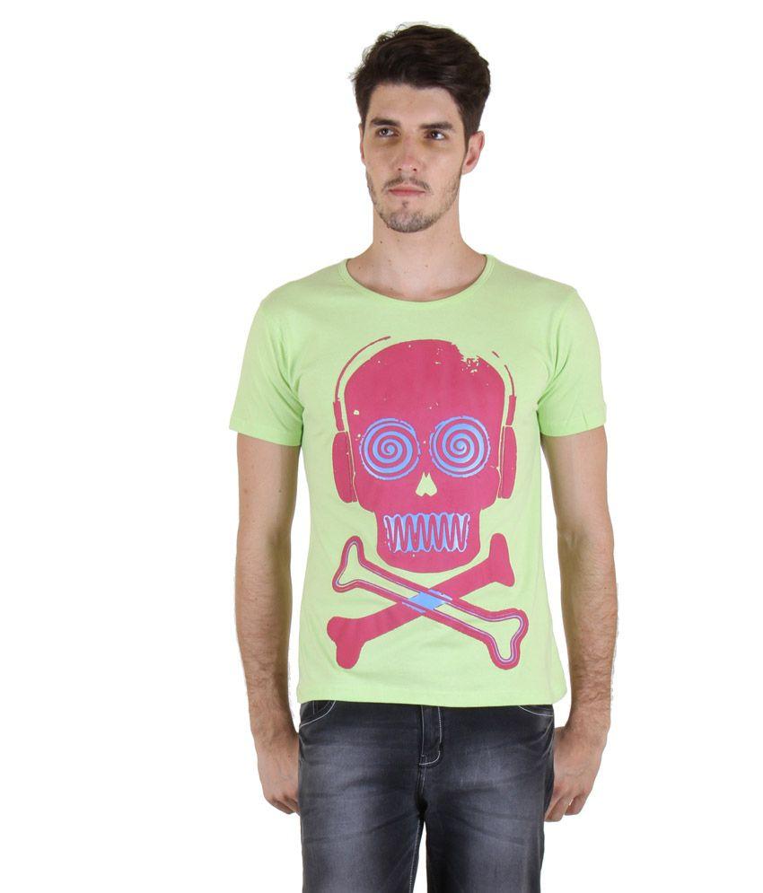 Incynk Green Round T-Shirt
