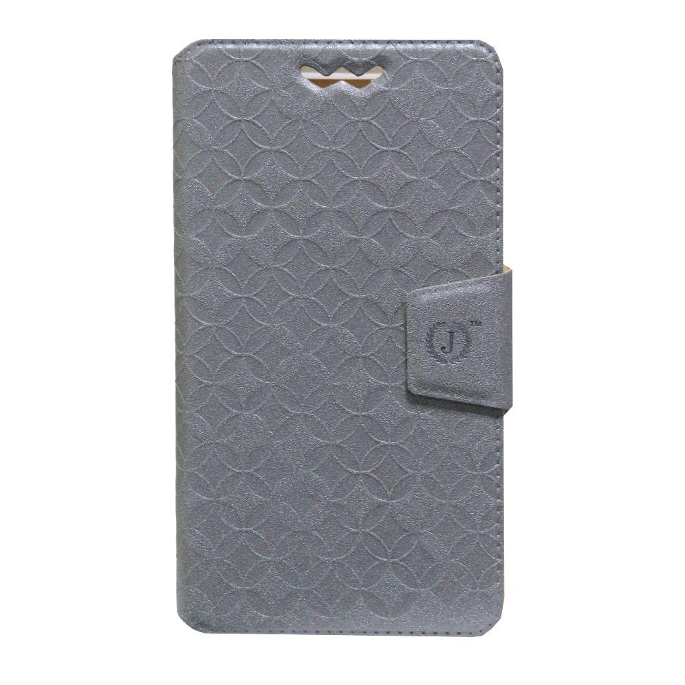 Xiaomi Mi 4c Flip Cover by Jojo - Grey