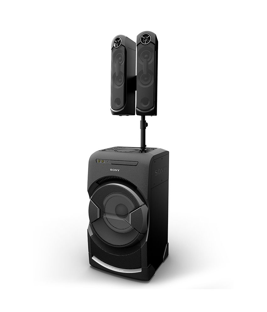 buy sony mhc gt4d portable personal dj system black online at best price in india snapdeal. Black Bedroom Furniture Sets. Home Design Ideas