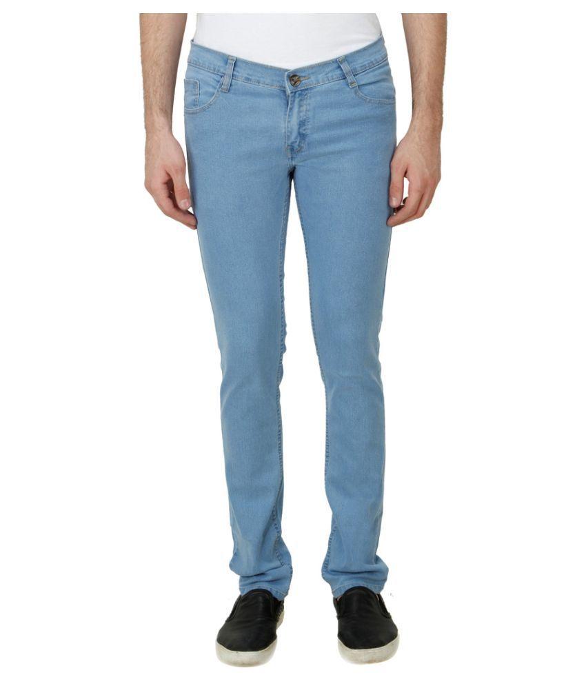 Haltung Light Blue Slim Solid
