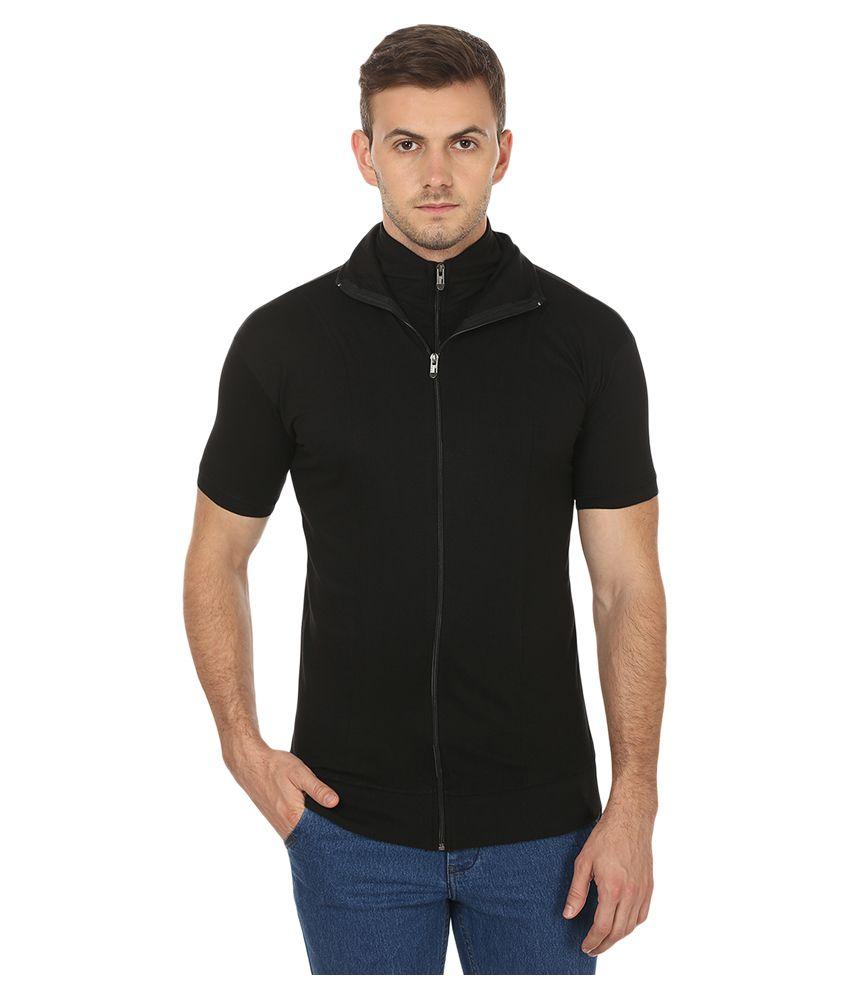 Black Collection Black High Neck T-Shirt