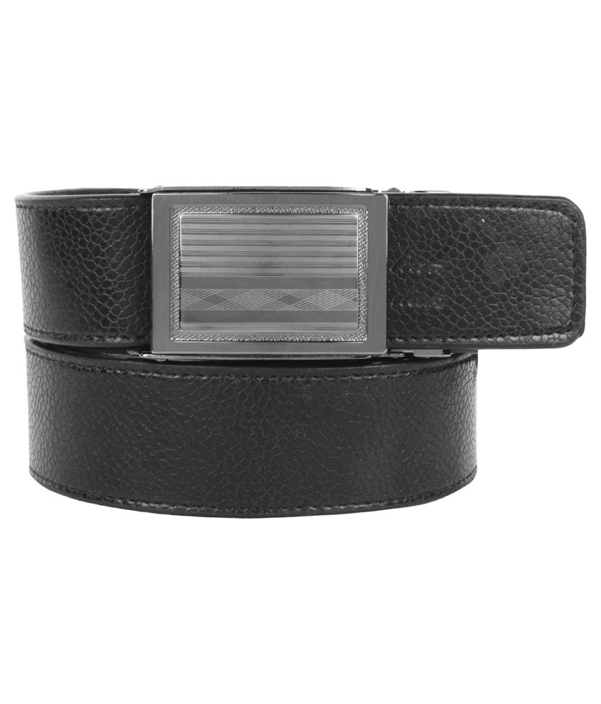 Super Matteress Gray Faux Leather Casual Belts