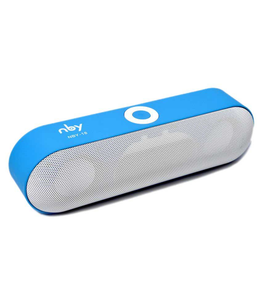 Nby 18 Portable Bluetooth Speaker Price In India March, 2018 @ IndiaShopps