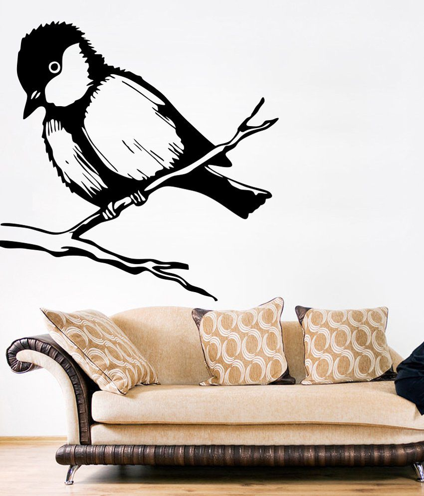 ac450d1cf3d Wallskart Sparrow Bird Vinyl Wall Stickers - Buy Wallskart Sparrow Bird Vinyl  Wall Stickers Online at Best Prices in India on Snapdeal