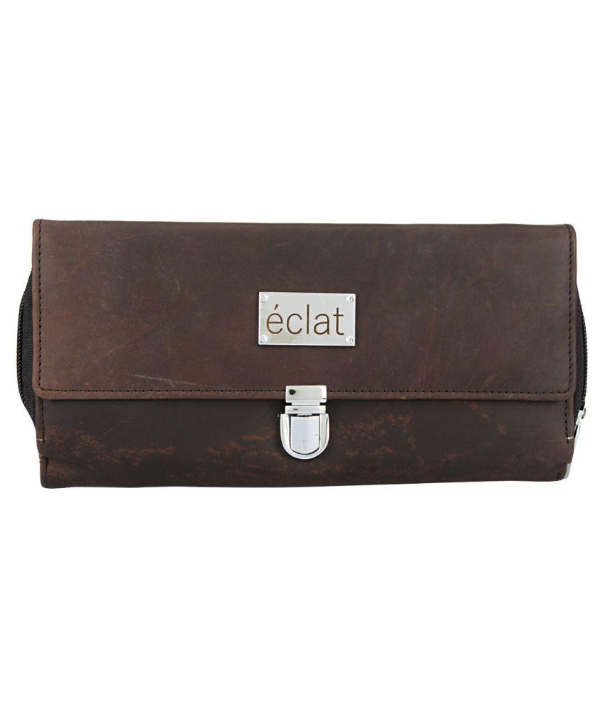Eclat Brown Handbags & Clutches