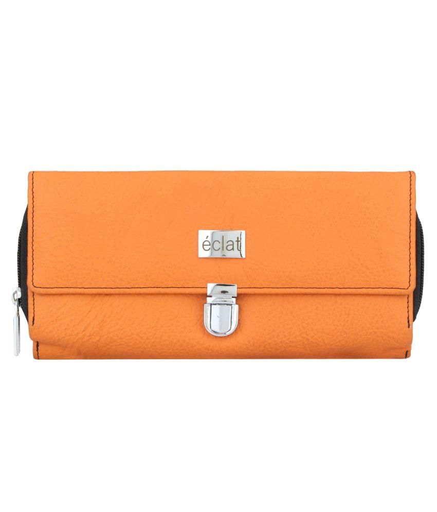 Eclat Orange Handbags & Clutches