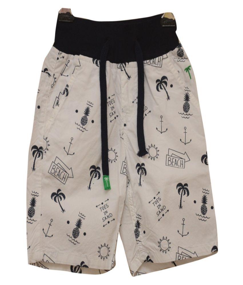 Titrit Beige Denim Shorts