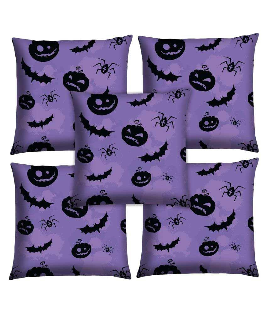 Magical Knots Set of 5 Satin Cushion Covers