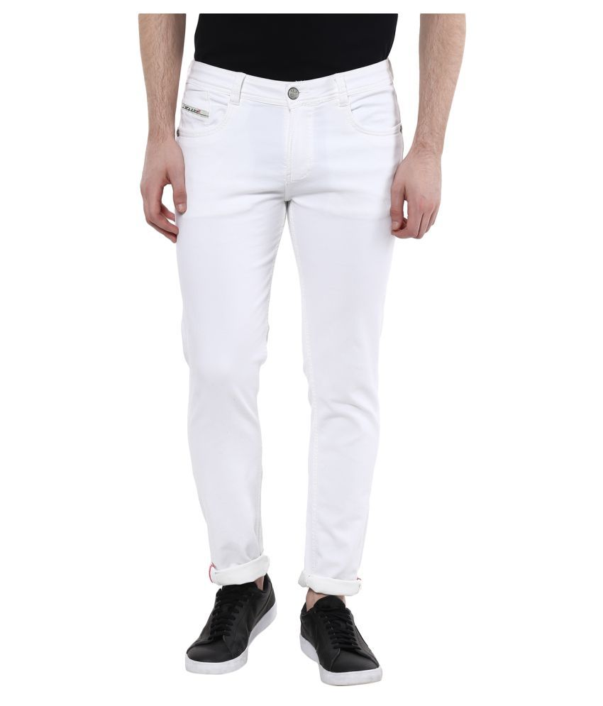 Code 61 White Skinny Solid