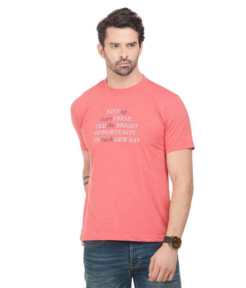Norwood Pink Round T-Shirt