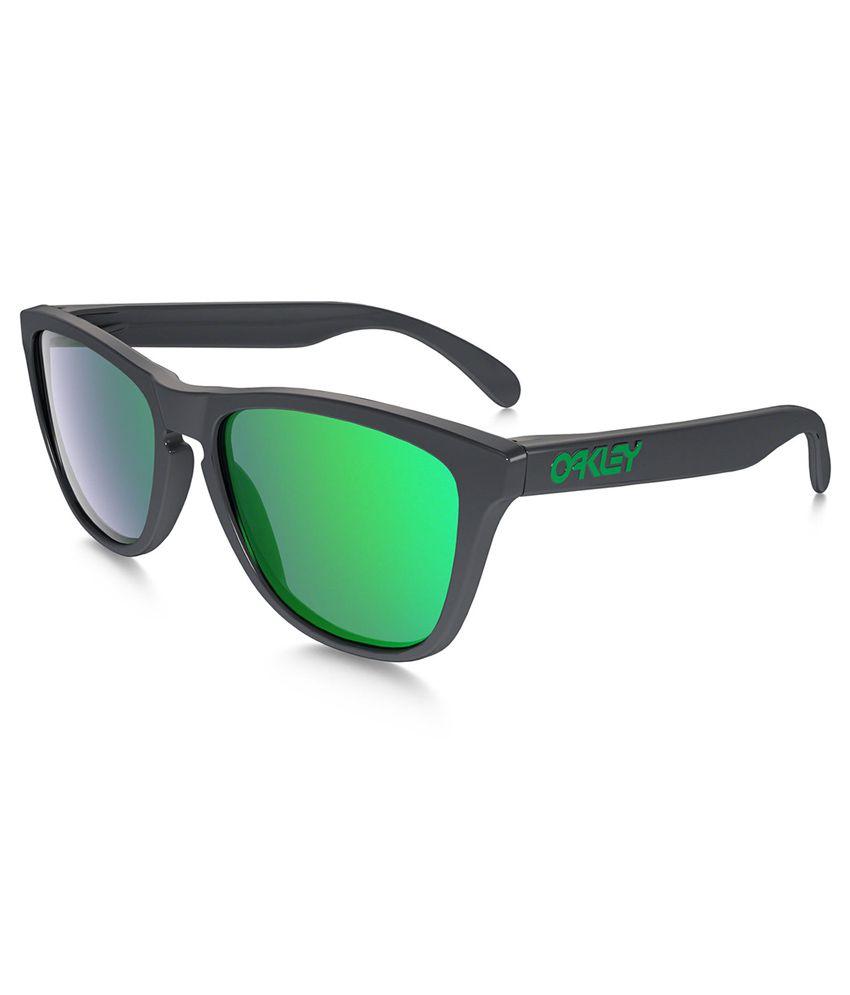 oakley green sunglasses  Oakley Green Wayfarer Sunglasses ( Oakley-OO-9013-32 ) - Buy ...