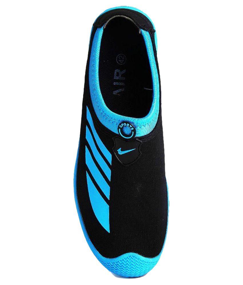 Vir Sport Black Running Shoes - Buy Vir