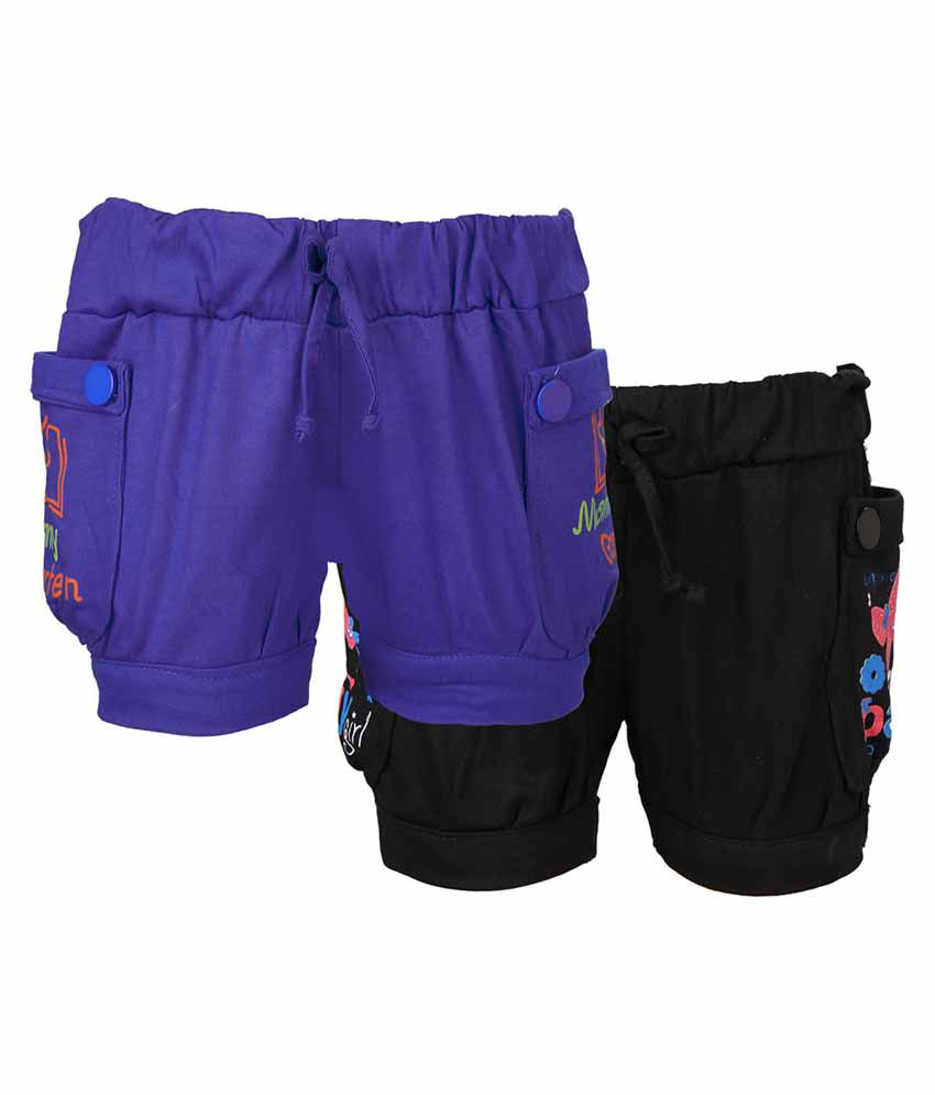 Weecare Multicolour Hot Pants - Pack of 2