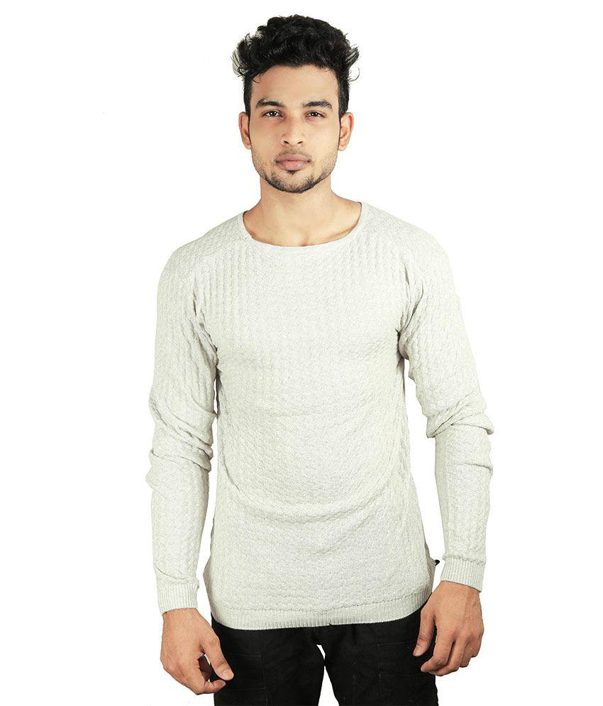 Spur Grey Round T-Shirt