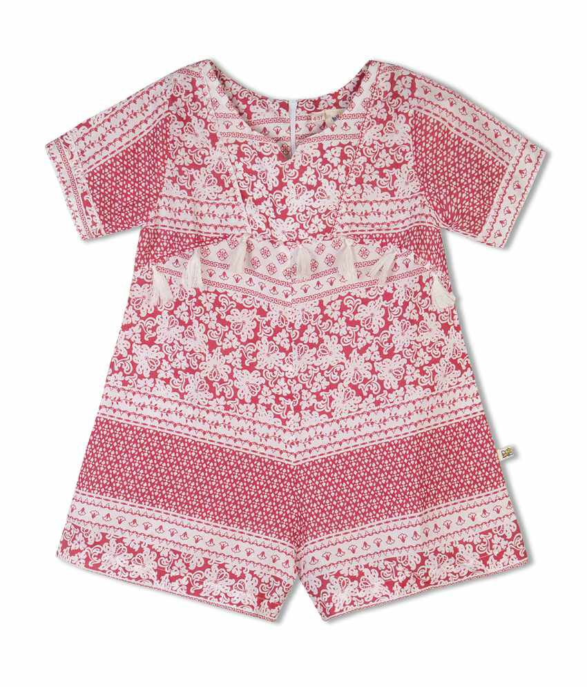 5156e89aeeee Budding Bees Multicolour Jumpsuit for Girls available at SnapDeal for Rs.399