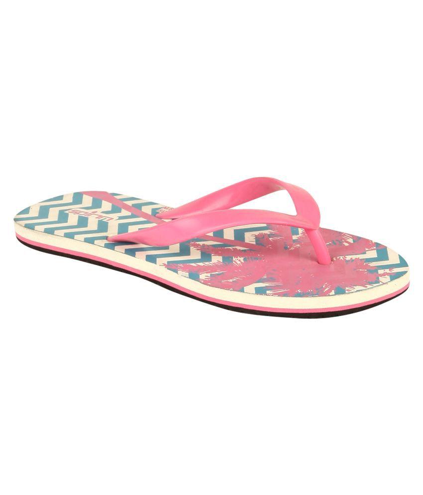 Spinn Pink Slippers