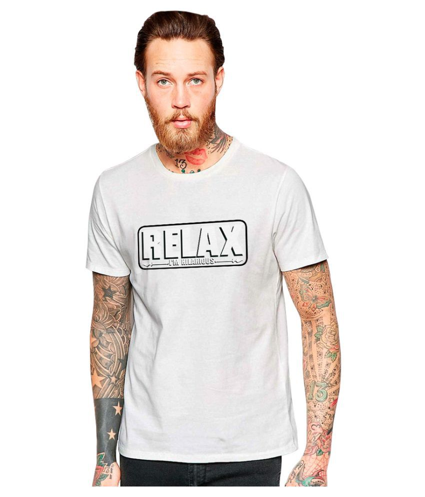 Uptown 18 White Round T-Shirt