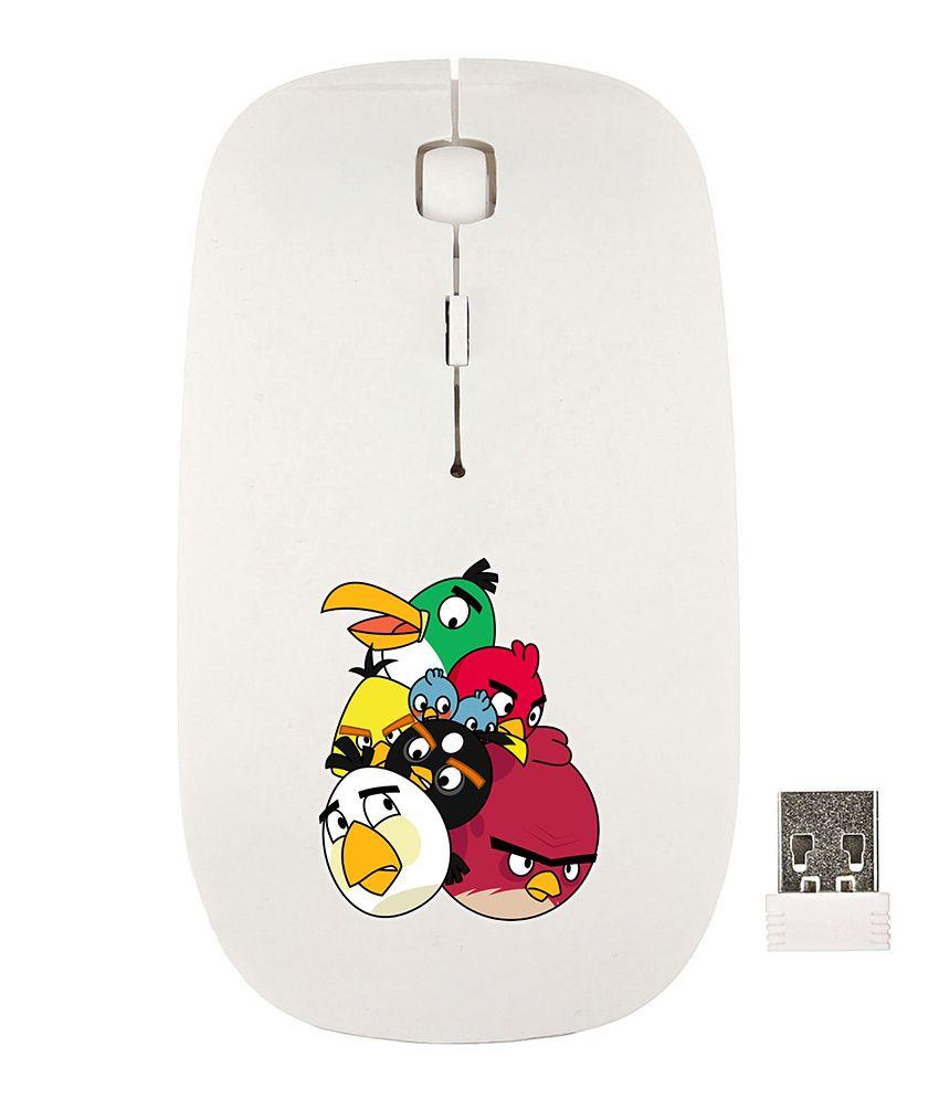 Anwesha's PRT17 White Wireless Mouse