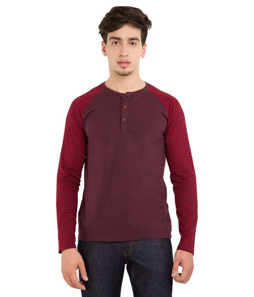 Highlander Pink Round Neck T Shirt