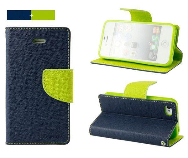 Lenovo Vibe P1 Flip Cover by Mercury Goospery - Blue