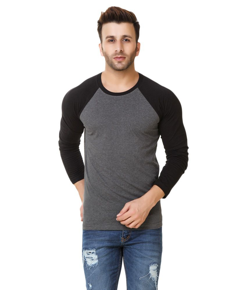 Fabstone Collection Grey Round T-Shirt - Buy Fabstone ...