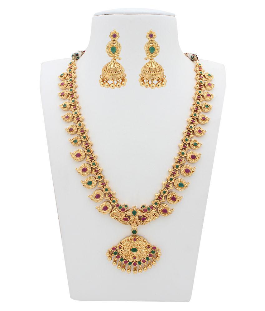 Kushi Multicolor Necklace Set