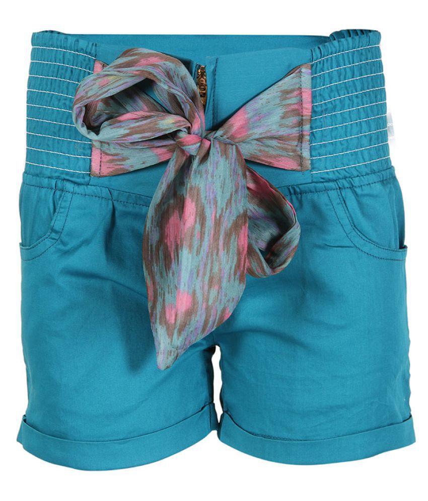 Miss Alibi Blue Denim Shorts