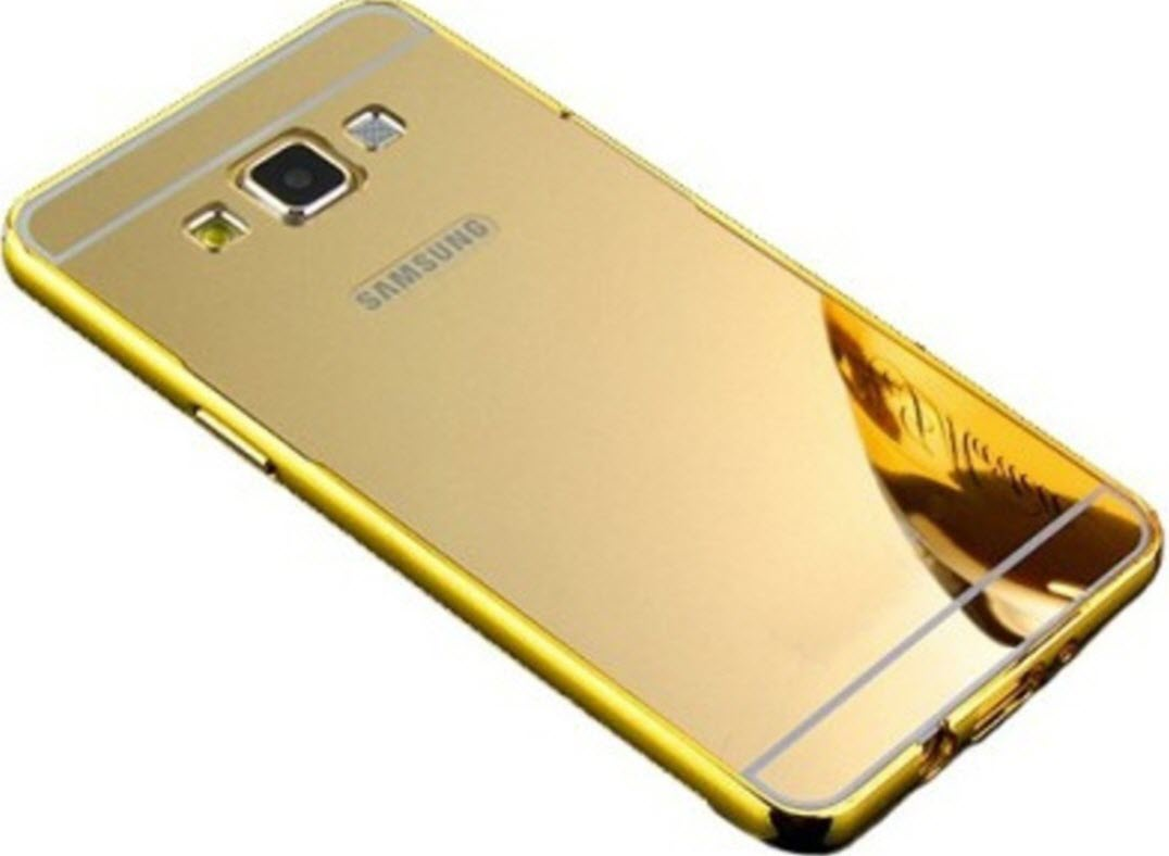 detailing e5742 2b180 Samsung Galaxy A7 Cover by Lamayra - Golden