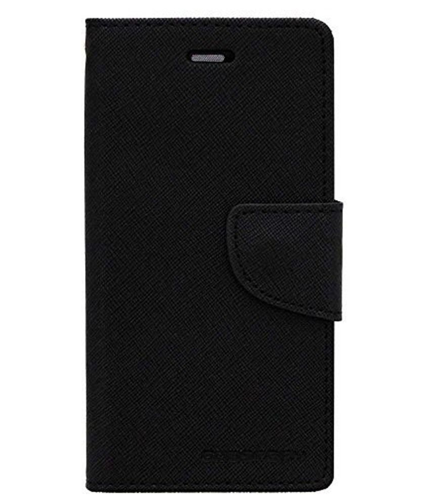 Samsung Grand 2 Flip Cover by BeingStylish - Black