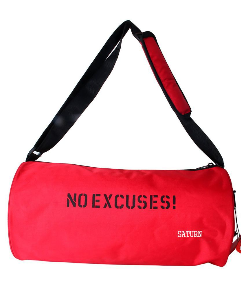 Saturn Red Gym Bag