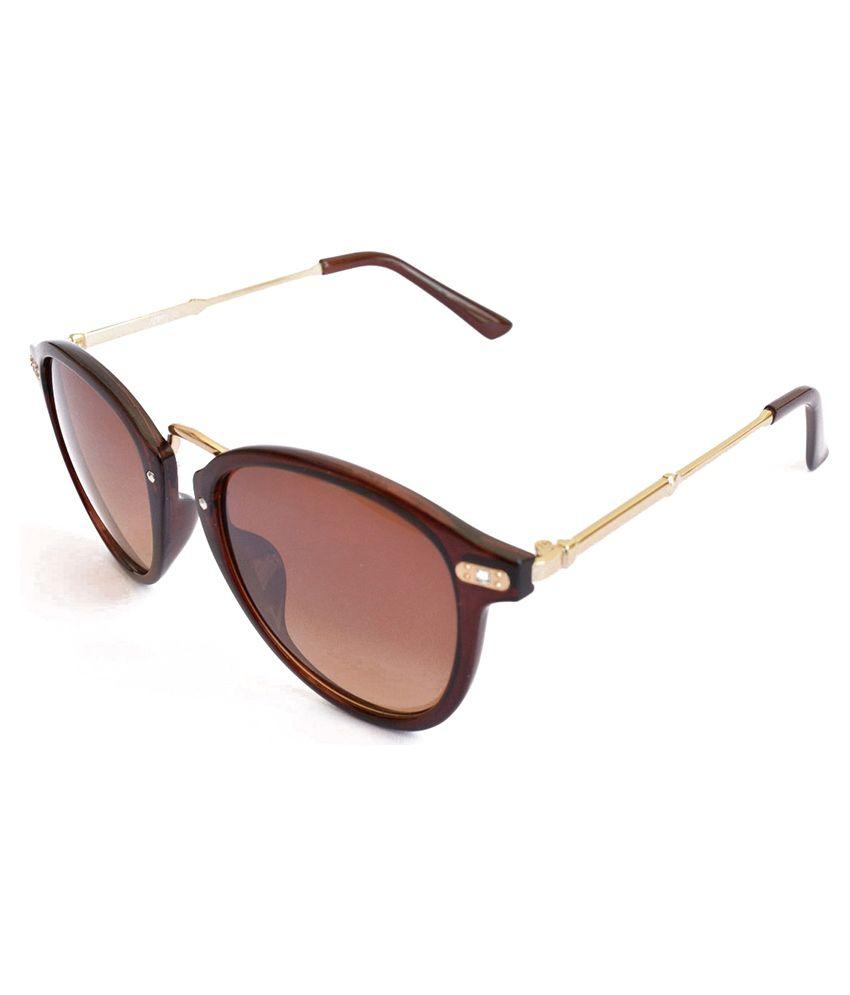 Pumawrap Brown Clubmaster Sunglasses ( DiamondSpotLady )