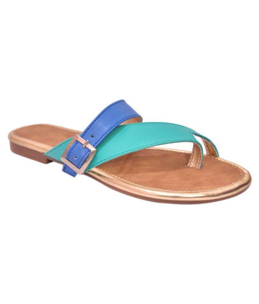 ShoeSutra Multi Color Flats
