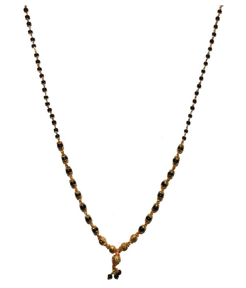 Fabzeel Golden 18 Inch Mangalsutra