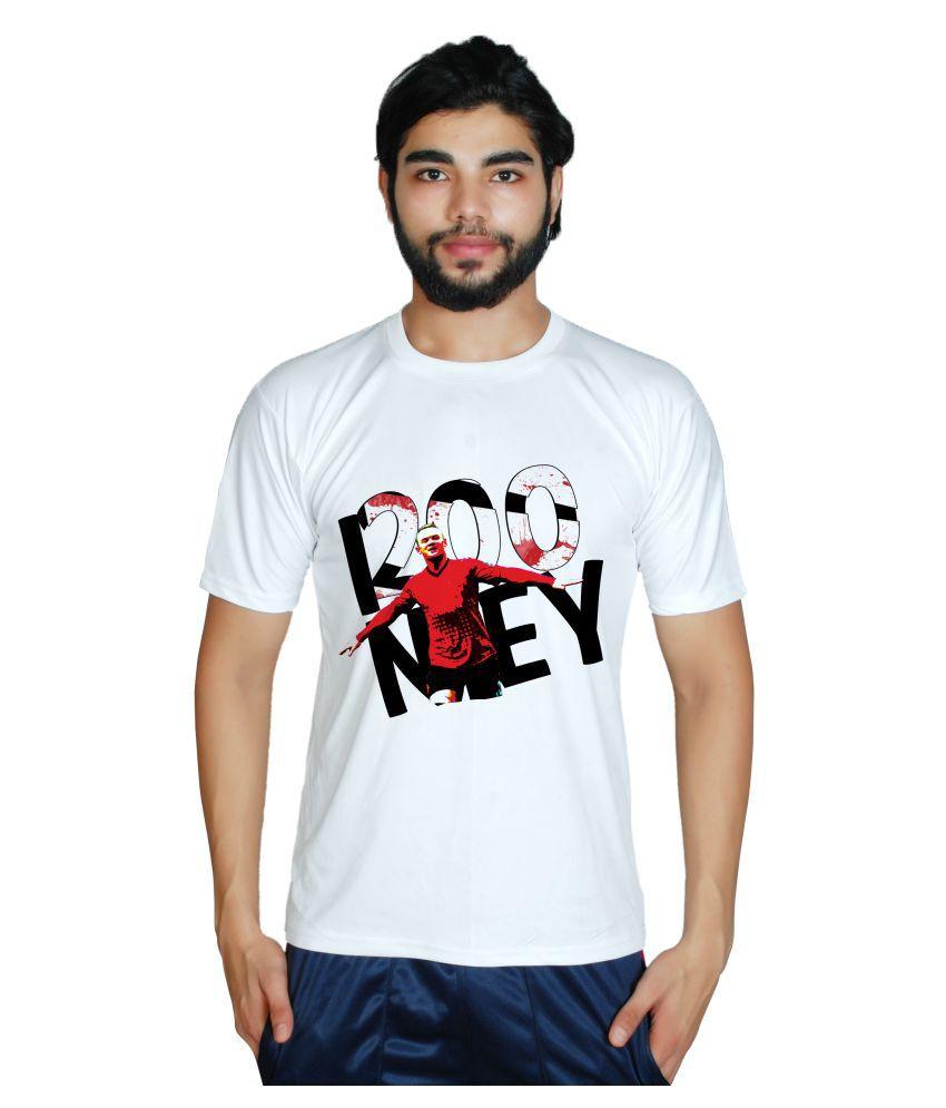 Prokyde White Round T-Shirt