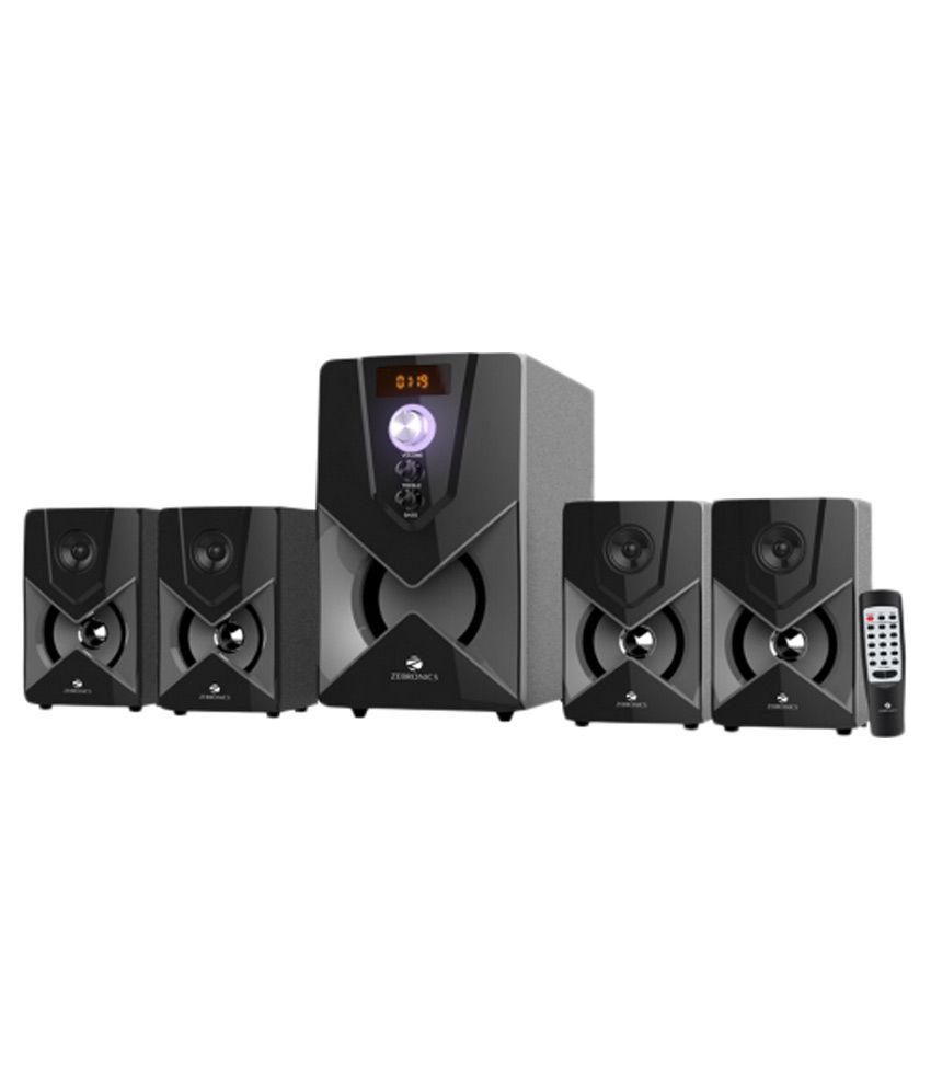 Zebronics ZEB-SW3491RUCF 4.1 Multimedia Speakers