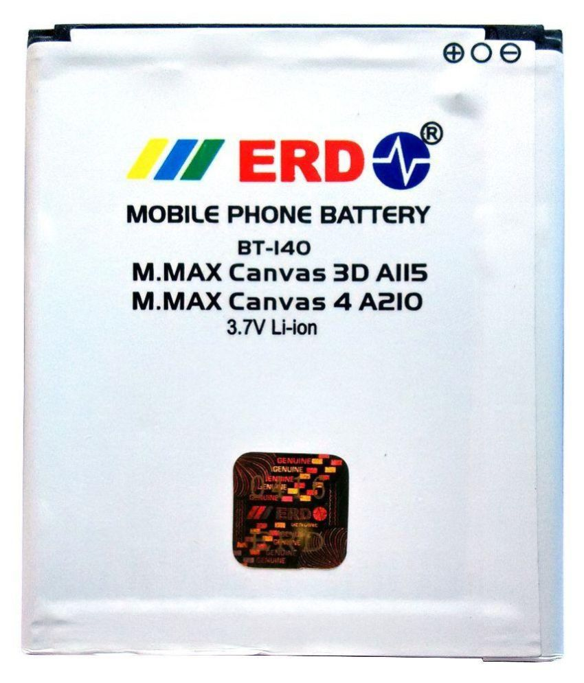 ERD 1250mAh Battery (For Micromax Canvas Lite A92)