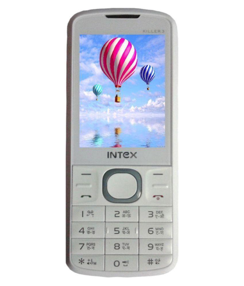 Intex Killer 3 ( 32 MB , 35 MB ) White