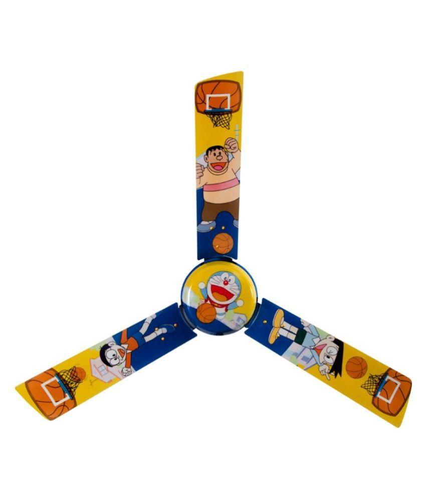 Usha 1200 mm Doraemon Basketball Ceiling Fan Multicolor Price in ...